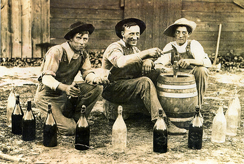 Oderbolz Brewery workers.
